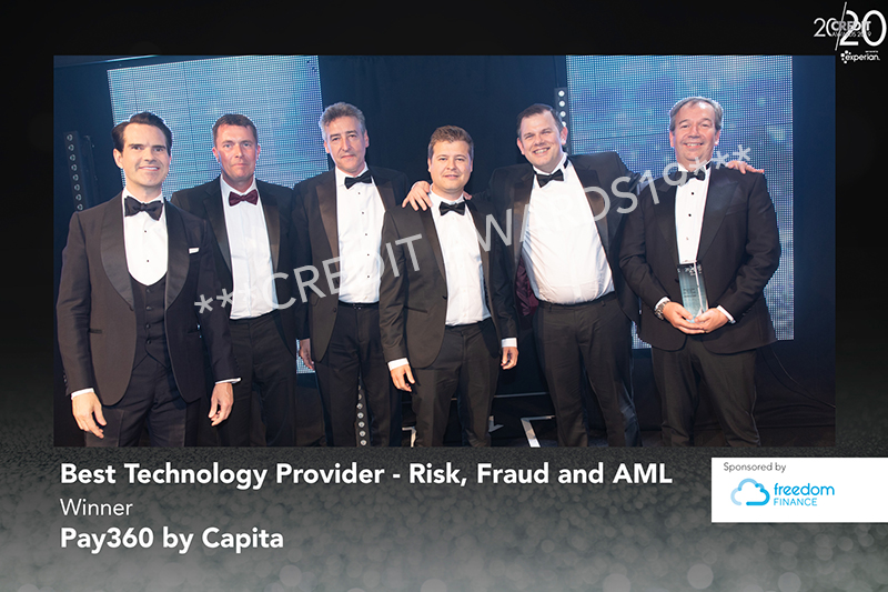 Best Technology Provider - Risk, Fraud and AML