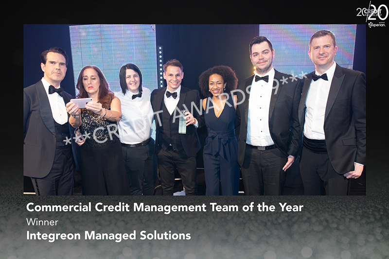 Commercial Credit Management Team of the Year