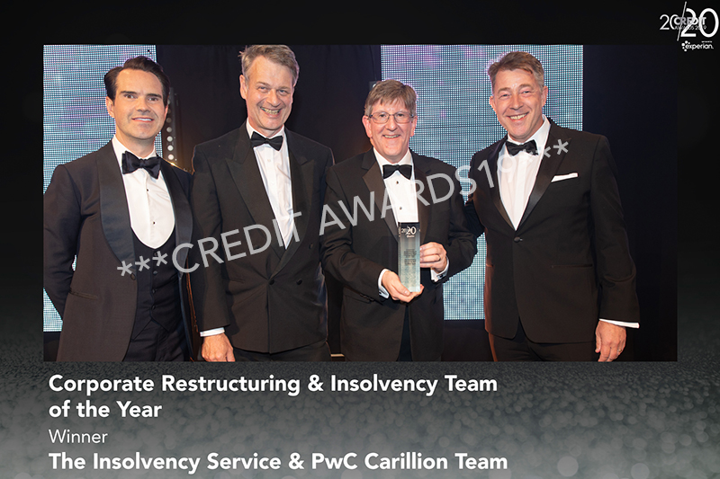 Corporate Restructuring & Insolvency Team of the Year