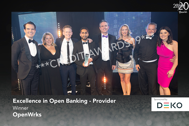 Excellence in Open Banking - Provider