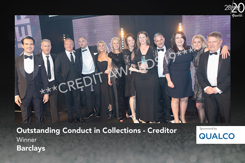 Outstanding Conduct in Collections - Creditor
