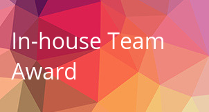In-house Team Award