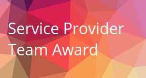 Service Provider Team Award