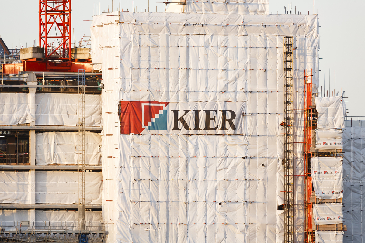 Construction firm Kier to cut 1,200 jobs