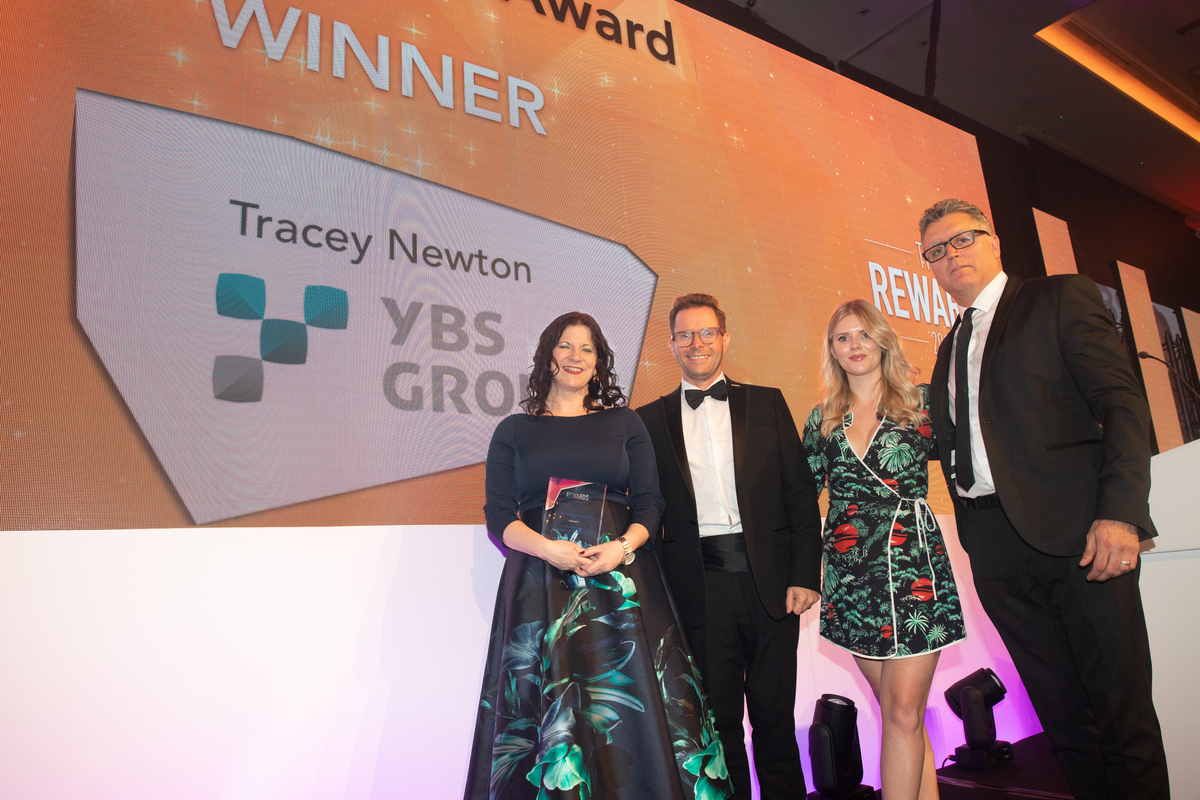Best Leader Award Winner 2019: Tracey Newton, Yorkshire Building Society