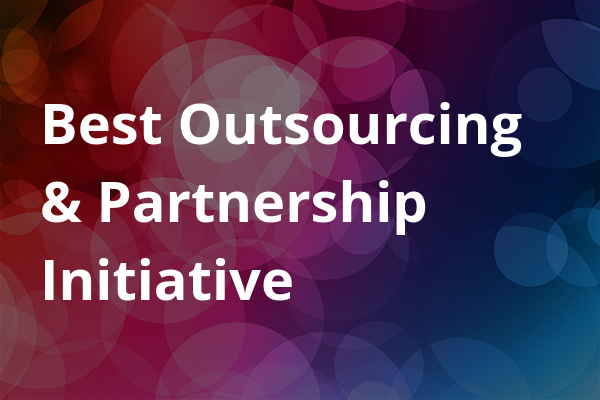 Best Outsourcing & Partnership Initiative