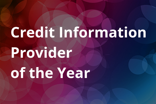 Credit Information Provider of the Year
