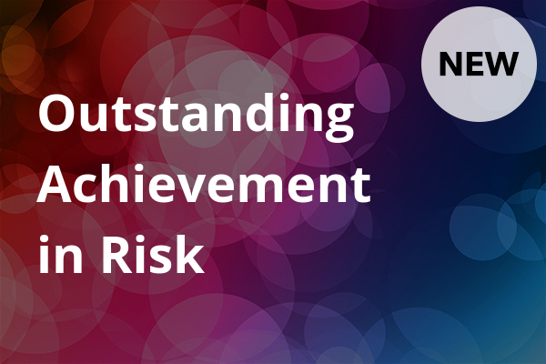 Outstanding Achievement in Risk