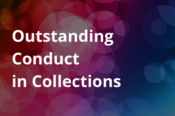 Outstanding Conduct in Collections
