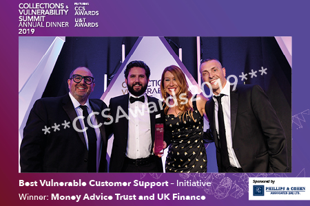 Best Vulnerable Customer Support – Initiative sponsored by Phillips & Cohen Associates (UK)