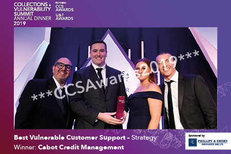 Best Vulnerable Customer Support – Strategy - sponsored by Phillips & Cohen Associates (UK)