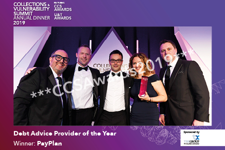 Debt Advice Provider of the Year sponsored by TDX Group