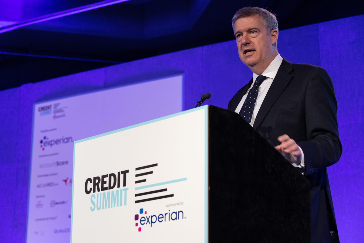 The FCA's Jonathan Davidson, speaking at the Credit Summit 2019