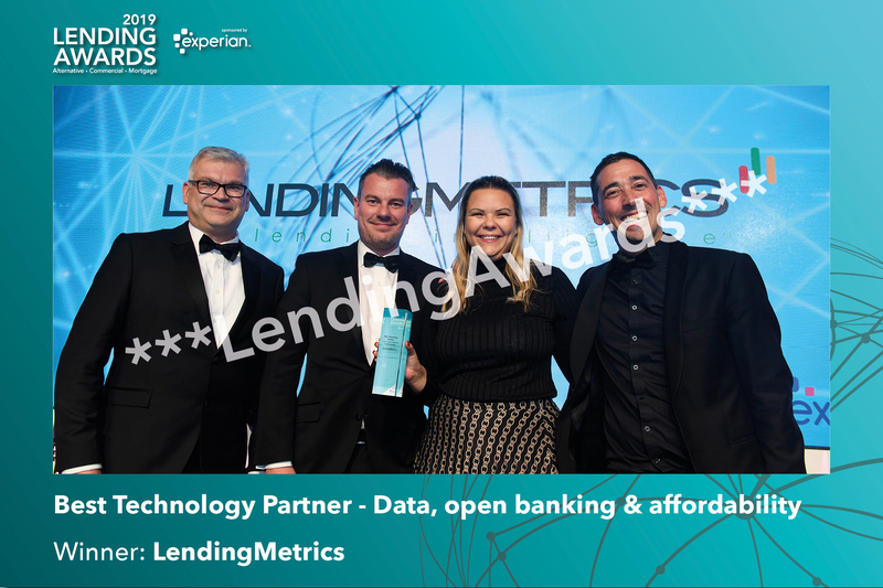 Best Technology Partner - Data, open banking & affordability