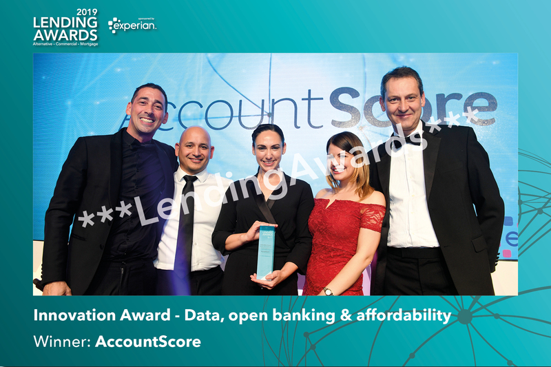 Innovation Award - Data, open banking & affordability