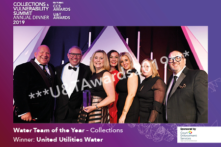 Water Team of the Year – Collections sponsored by Court Enforcement Services