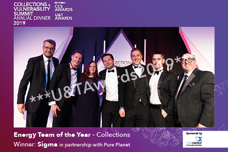Energy Team of the Year – Collections –  sponsored by TDX Group