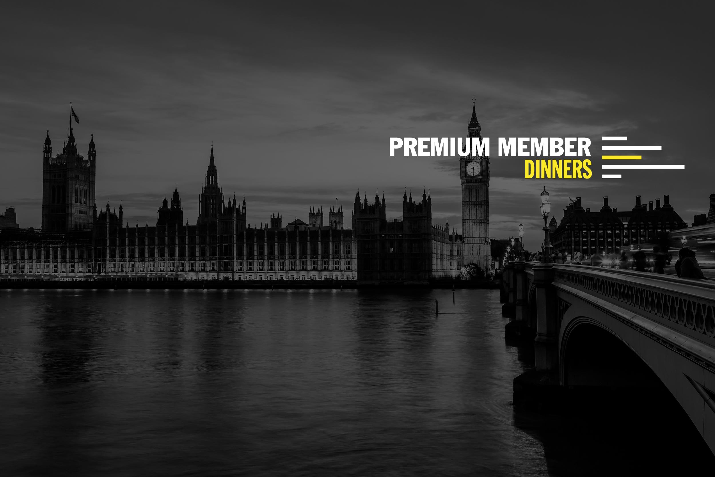 Premium Member Dinners