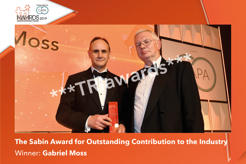 The Sabin Award for Outstanding Contribution to the Industry