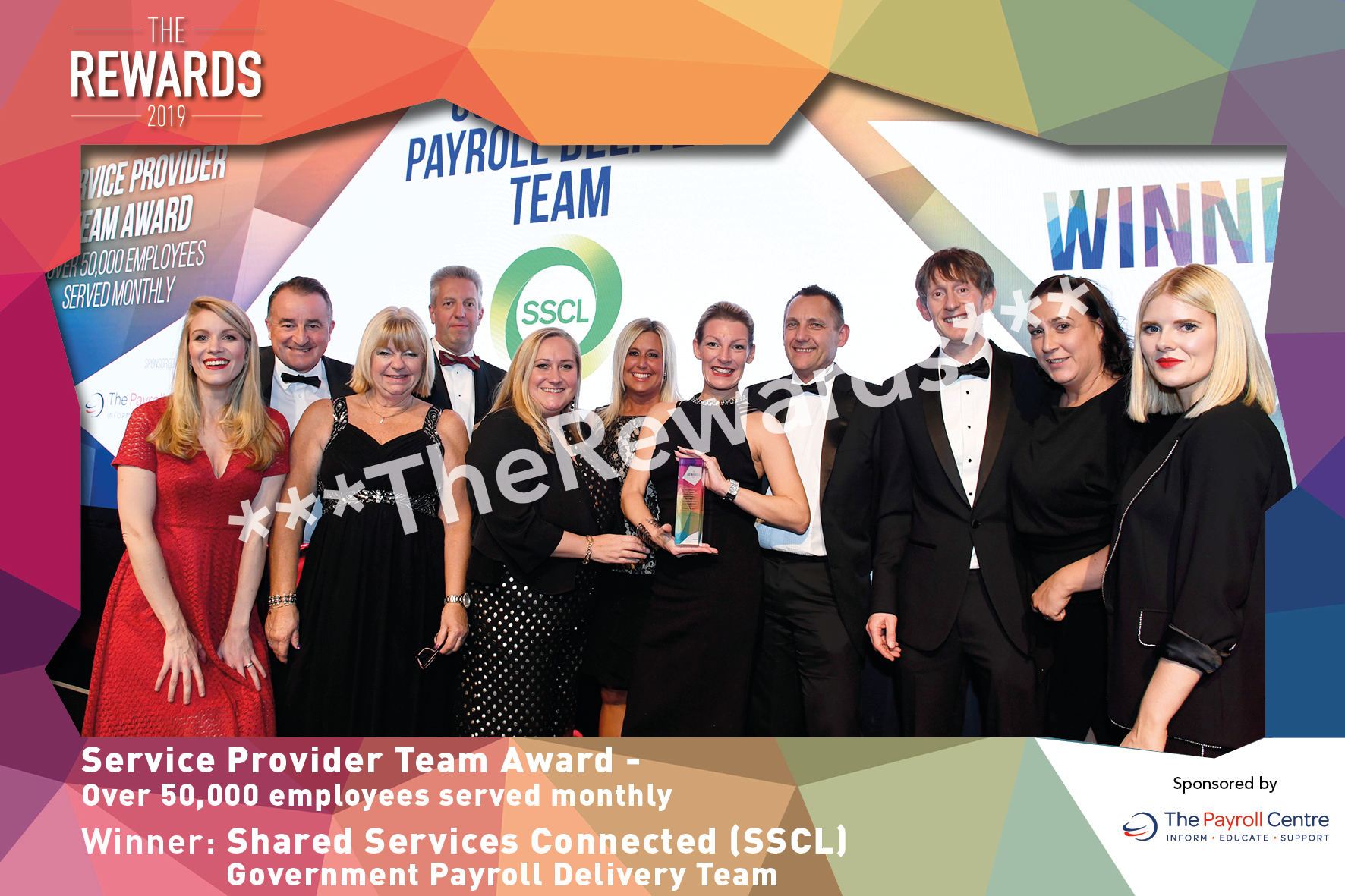 Service Provider Team Award - Over 50,000 employees served monthly