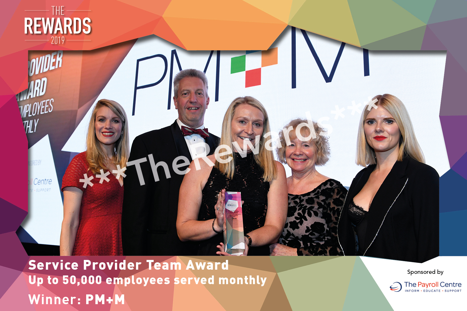 Service Provider Team Award - Up to 50,000 employees served monthly