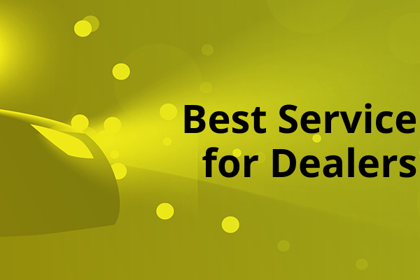 Best Service for Dealers