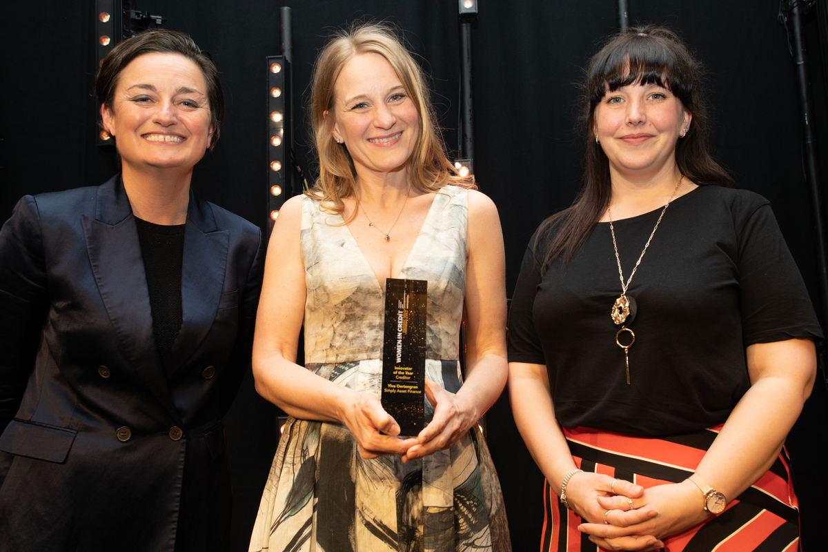 Women in Credit 2019 Innovator of the Year - Creditor winner Ylva Oertengren