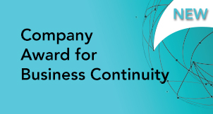 Company Award for Business Continuity