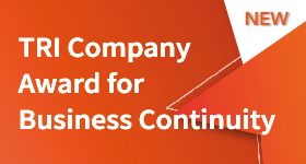 TRI Company Award for Business Continuity