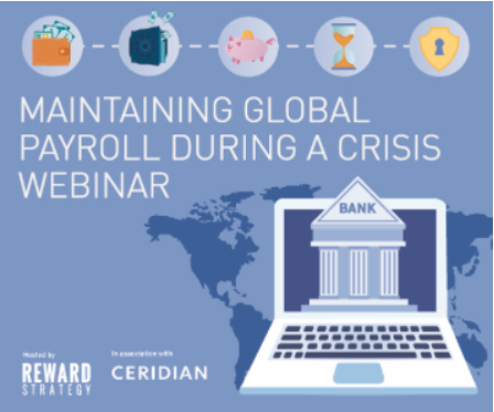 Maintaining global payroll during a crisis and beyond