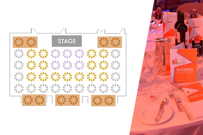 Bronze table - TRI Awards