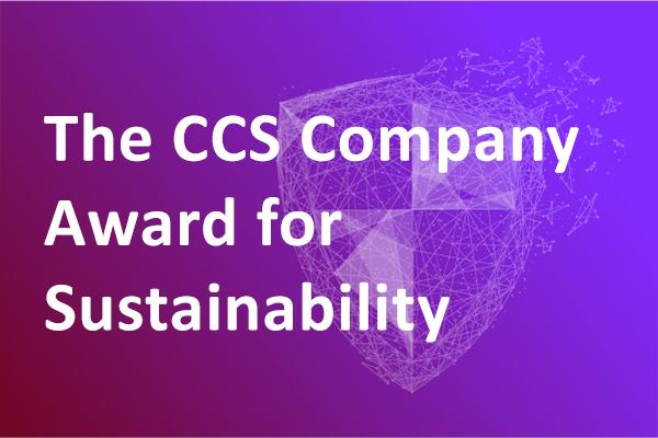 The CCS Company Award for Sustainability