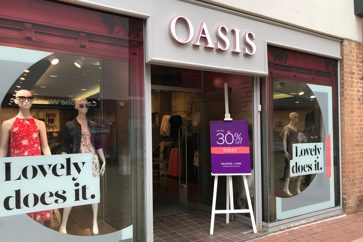 CAPA appointed on over 90 Oasis/Warehouse stores