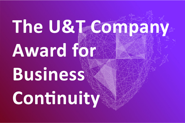 The U&T Company Award for Business Continuity