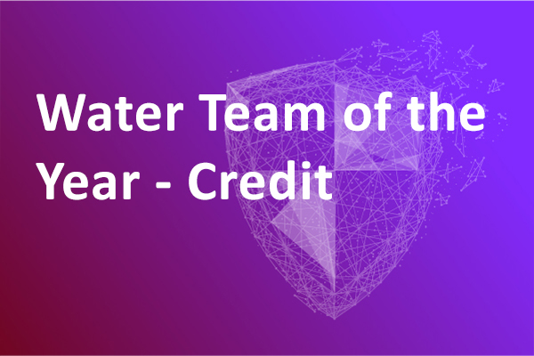Water Team of the Year – Credit