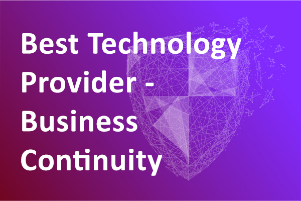Best Technology Provider – Business Continuity