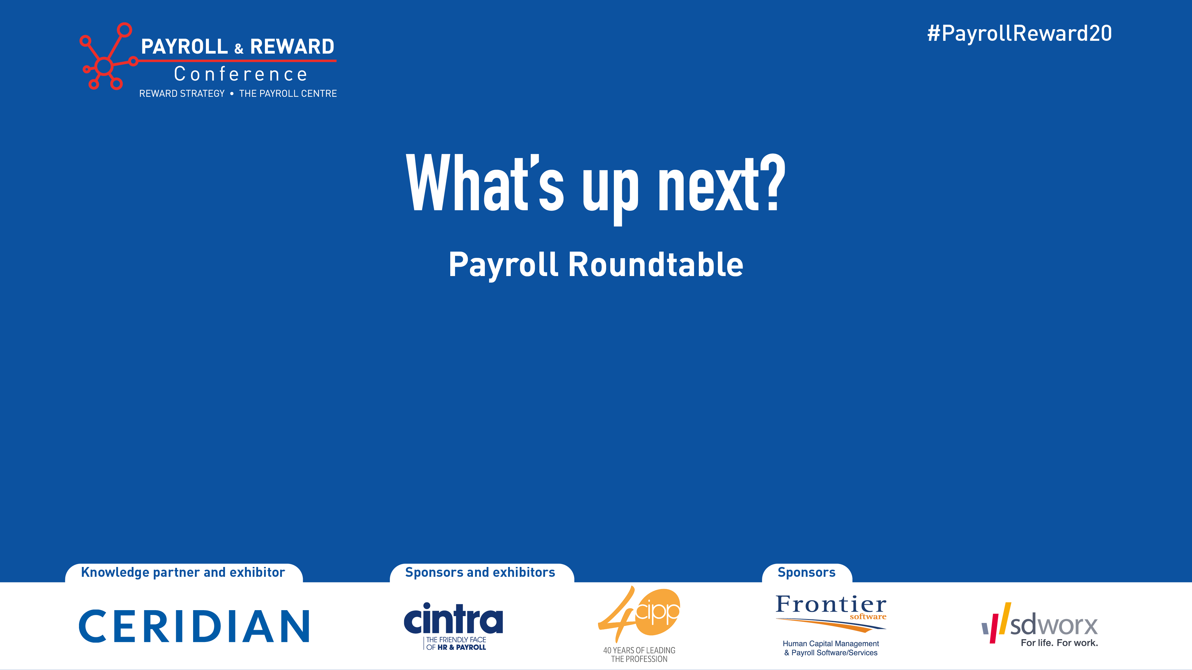 Payroll & Reward Conference - Day 2 Session 8