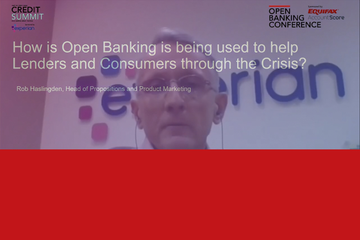 How can open banking help lenders and consumers through the Covid crisis