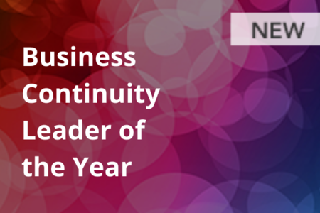 Business Continuity Leader of the Year (NEW)