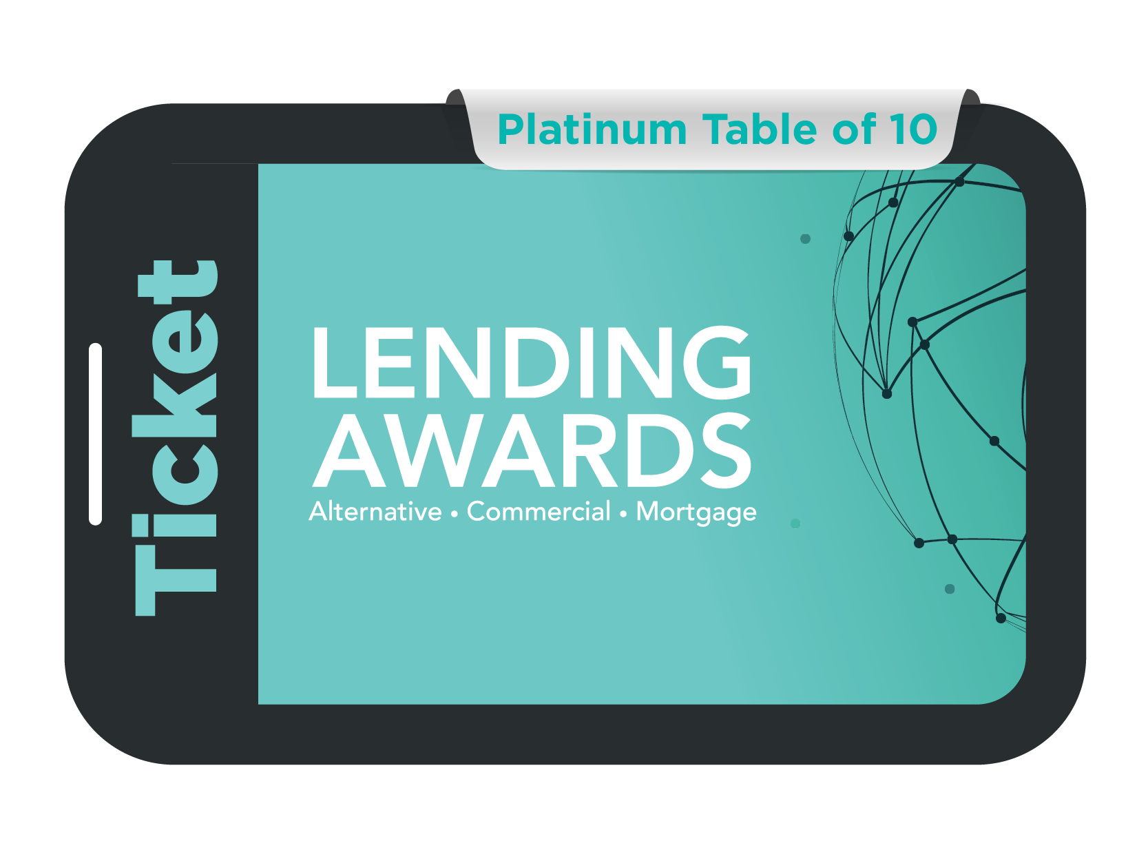 Platinum Table of 10 - Lending Awards 2021