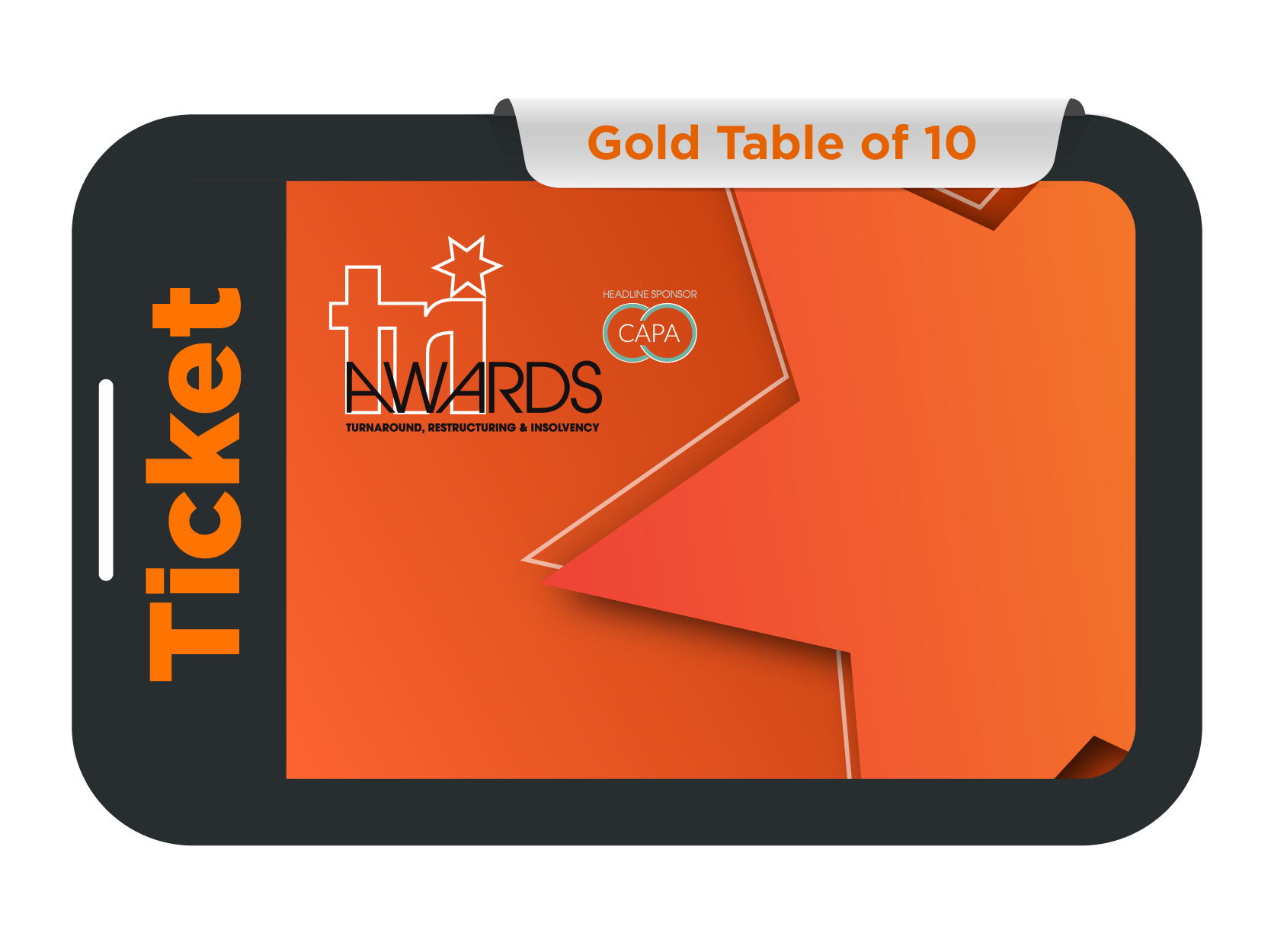 Gold Table of 10 - TRI Awards 2021