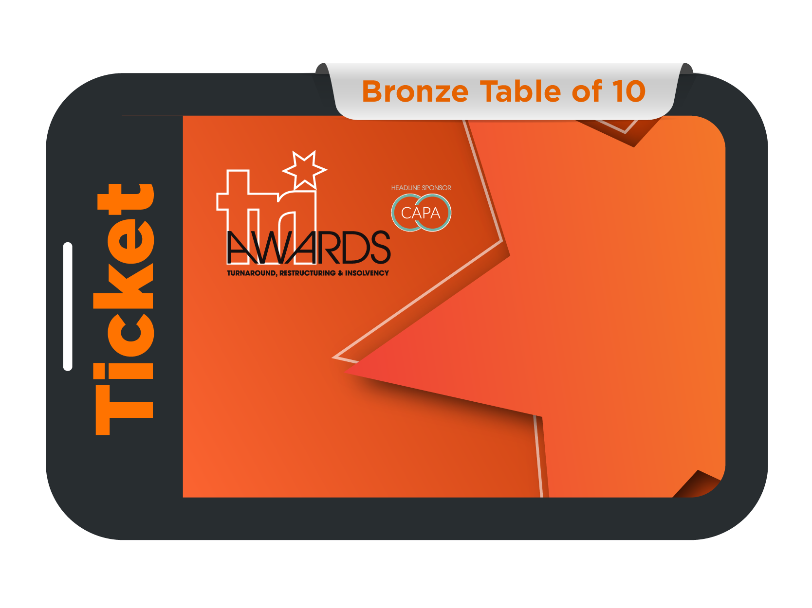 Bronze Table of 10 - TRI Awards 2021