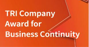 TRI Company Award for Business Continuity