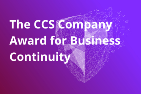 The CCS Company Award for Business Continuity