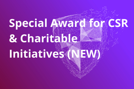 Special Award for CSR & Charitable Initiatives (NEW)