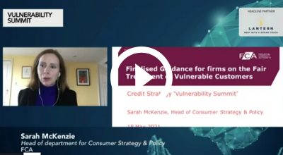 2. FCA address - Fair and consistent treatment of vulnerable customers