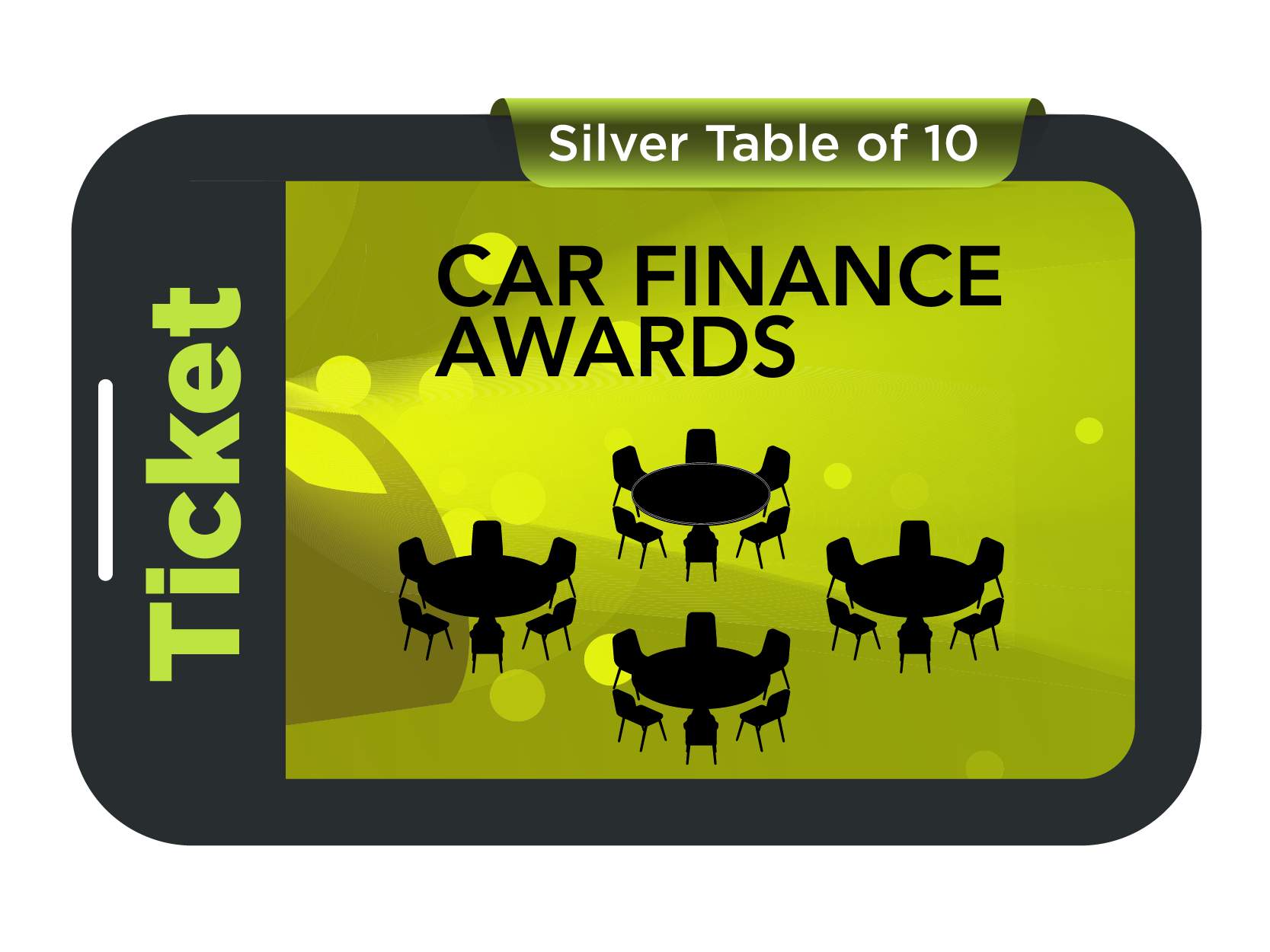 Silver Table of 10 - Car Finance Awards 2021