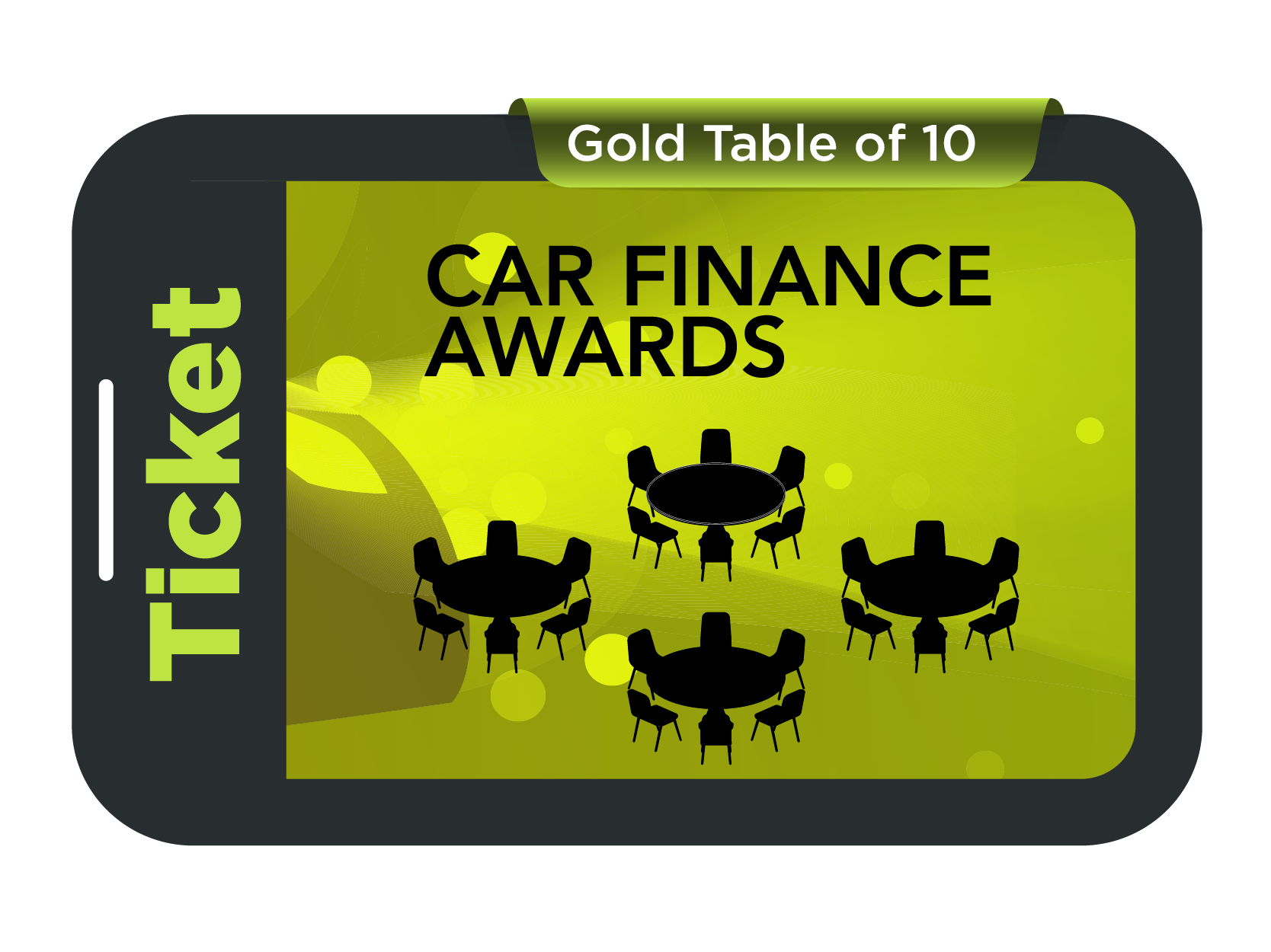 Gold Table of 10 - Car Finance Awards 2021