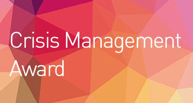 Crisis Management Award
