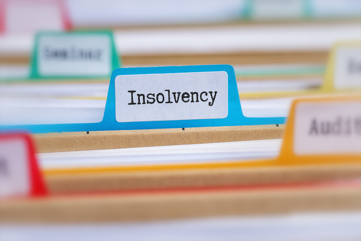 Total company insolvencies rose in May 2021